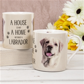 House Not Home Mug � Golden Labrador (TEMP IMAGE OF SAMPLE PRODUCT)
