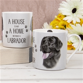House Not Home Mug � Black Labrador (TEMP IMAGE OF SAMPLE PRODUCT)
