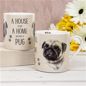 House Not Home Mug � Pug (TEMP IMAGE OF SAMPLE PRODUCT)