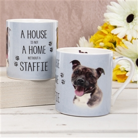 House Not Home Mug � Staffie (TEMP IMAGE OF SAMPLE PRODUCT)
