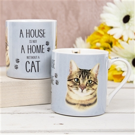 House Not Home Mug � Tabby Cat (TEMP IMAGE OF SAMPLE PRODUCT)