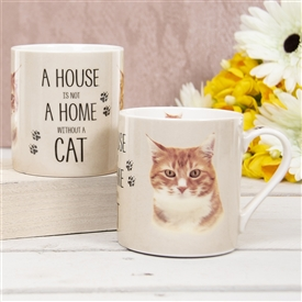 House Not Home Mug � Ginger Cat (TEMP IMAGE OF SAMPLE PRODUCT)