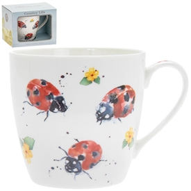 Country Life Ladybirds Mug