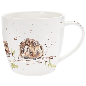 Country Life Hedgehogs Mug