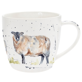 Country Life Sheep Mug