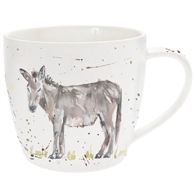 Country Life Donkey Mug