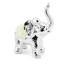 Silver Millie Elephant Ornament