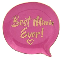 Mum Speech Bubble Jewellery Dish