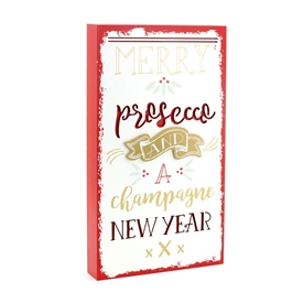 SPECIAL OFFER (WAS £3.98) Prosecco & Champagne 3D Plaque