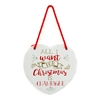 FLASH SALE All I Want Is Champagne Heart Plaque