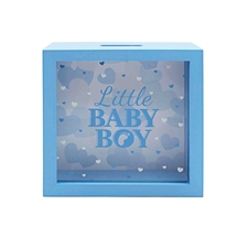 Baby Boy Money Box 18cm