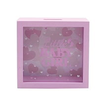 Baby Girl Money Box 18cm