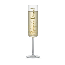 REDUCED Prosecco Queen Flute