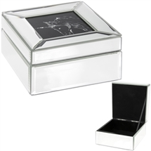 REDUCED Medium Multi Crystal Unicorn Jewellery Box 12.5cm
