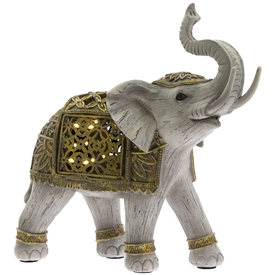 LED Gold Elephant