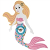 REDUCED Mermaid Clock 37cm
