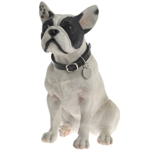 Large Sitting French Bull Dog 26cm