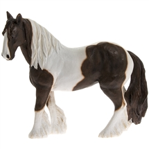 Brown And White Cob 17cm