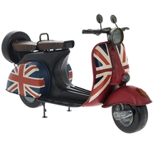 Vintage Union Jack Scooter 30cm
