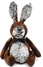 Rabbit Faux Leather Doorstop 29cm
