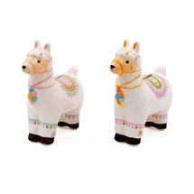 Standing Llama Money Bank 2 Assorted 14cm