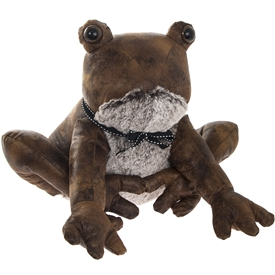 Frog Faux Leather Doorstop