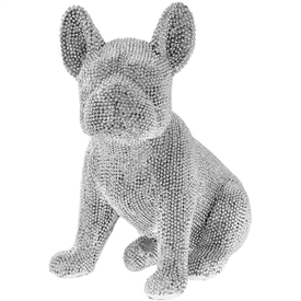 Diamante French Bulldog Decoration