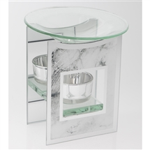 Mirror Marble Oil Burner