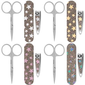 Glitter Star Manicure Set 4 Assorted