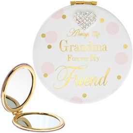 Mad Dots Grandma Compact Mirror