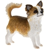 Longhaired Chihuahua Dog Figurine 9cm