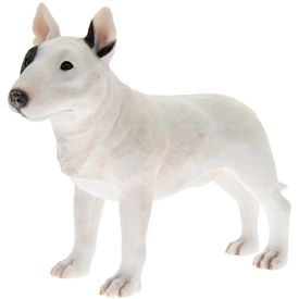 Bull Terrier Dog Figurine 17cm
