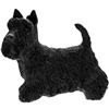 Black Standing Scottish Terrier Dog Ornament