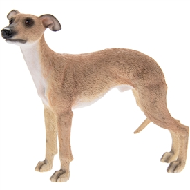 Standing Whippet Dog Ornament