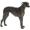 Standing Lurcher Dog Ornament