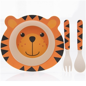 Tiger Eating Set