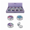 Glitter Tie Dye Pill Box 3 Assorted