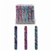 Glitter Tie Dye Nail File 3 Assorted