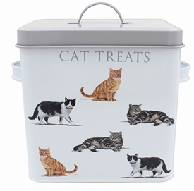 Metal Macneil Cat Treats Box