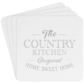 Cork Country Kitchen Coasters Set of Four