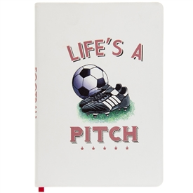 Football Notebook A5