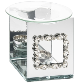 Diamond Mirror Oil Burner