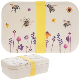 Bamboo Eco Busy Bees Theme Lunch Box