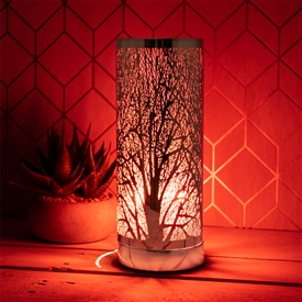 Red And Rosegold Aroma Lamp 26cm
