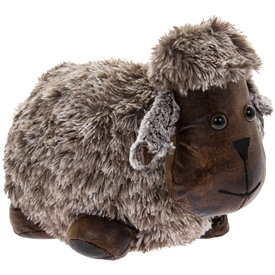 Plush Sheep Doorstop 28cm