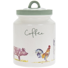 Country Life Farm Coffee Canister