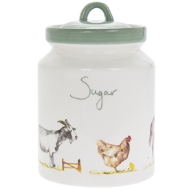 Country Life Farm Sugar Canister