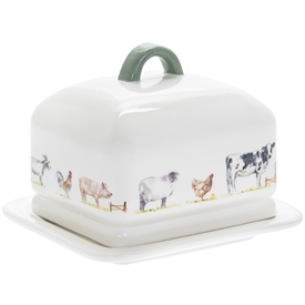 Country Life Farm Butter Dish