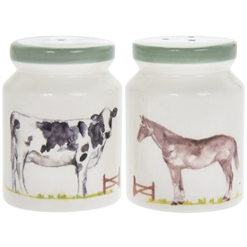 Country Life Farm Salt And Pepper Set
