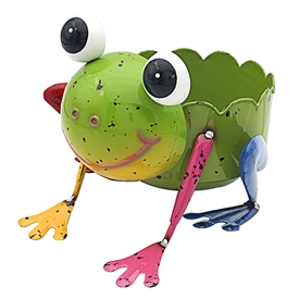 Bright Eyes Frog Planter